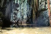 Underground lake. — Stock Photo