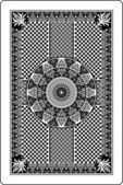 Playing card back side — Vecteur
