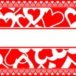Valentine card background — Stock Vector #8830737