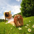 Stock Photo: Sunny day and Leisure