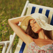 Summer day relaxing — Stock Photo #12426892