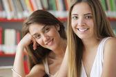 Friendly students — Stock Photo