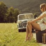 Vintage travel — Stock Photo