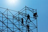 строительный рабочий — Стоковое фото