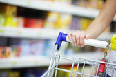 Supermarket Shopper — Stock Photo