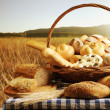 Bread basket — Stock Photo #14850857