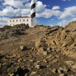 Lighthouse on the cliff — Stock Photo #16687441