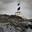 Lighthouse on the cliff — Stock Photo #16691201