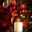 Royalty-Free Stock Photo: Christmas candle