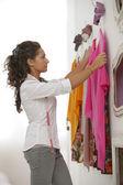 Female fashion designer — Stock Photo
