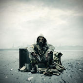环境灾难 — 图库照片