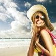 Happy summer holiday - Stock Photo