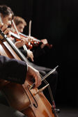 Classical music concert — Stock Photo