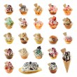 Ice cream collection — Stock Photo #21386543