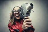 Film divertente — Foto Stock