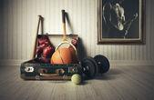 スポーツ用品 — ストック写真