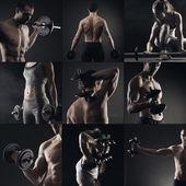 Musculação — Foto Stock