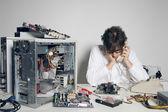 Computer Problem — Foto Stock