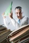 Exceso de trabajo — Foto de Stock