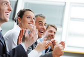 Clapping business — Stock Photo