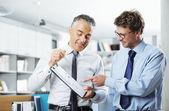 Negócios em reunião — Foto Stock