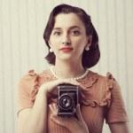 Vintage photographer — Stock Photo #26715923