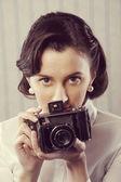 Fotógrafo vintage — Foto de Stock