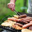 Grilling at summer weekend — Stock Photo #30060159