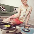 Stock Photo: Vintage music