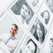 smiling people — Stock Photo