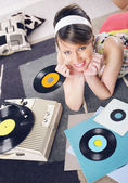 Vintage music — Stock Photo