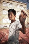 年轻的男孩的肖像 — 图库照片