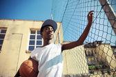 Baloncesto callejero — Foto de Stock