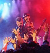 Recital rock — Foto de Stock