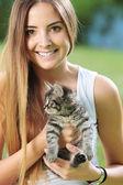 I love cats! — Stock Photo