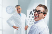 Optometrist Visit — Stock Photo