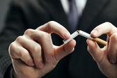 Rzucić palenie — Zdjęcie stockowe