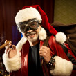 Stock Photo: Bad Santa