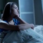 Schlaflosigkeit — Stockfoto