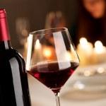 Wine tasting at restaurant — Stock Photo #39893239