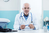 Doctor at work — Foto Stock