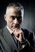 Confident businessman portrait — Stock Photo
