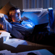 Working late at night — Stock Photo #43226547