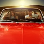 Vintage Car Couple — Stock Photo #45688311