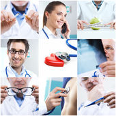 Medical collage — Stock Photo