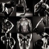 Body builder — Stock Photo