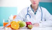 Diet and healthy food — Stock Photo