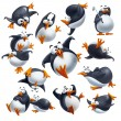 Funny penguins — Stock Photo #47519905