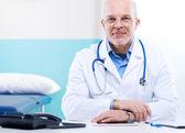 Doctor en el trabajo — Foto de Stock