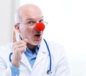 Doctor payaso — Foto de Stock